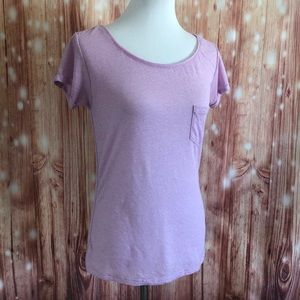 American Eagle Purple Featherweight T Shirt